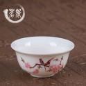 Piala keramikinė birds